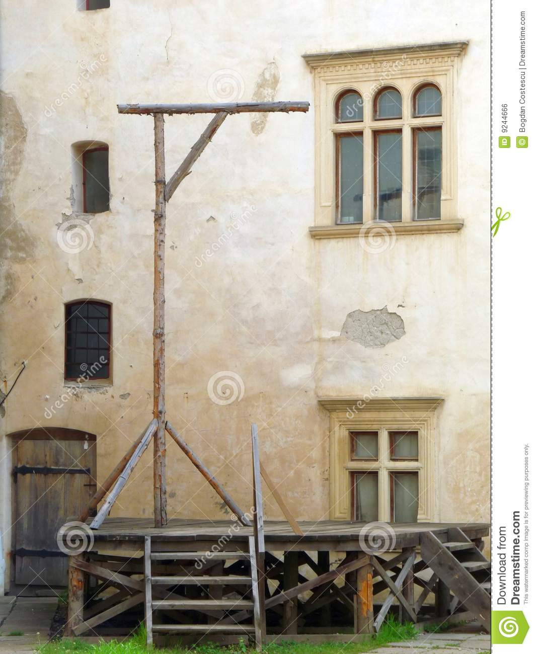 Medieval Gallows Royalty Free Stock Image - Image: 9244666 Public Policy Symbol