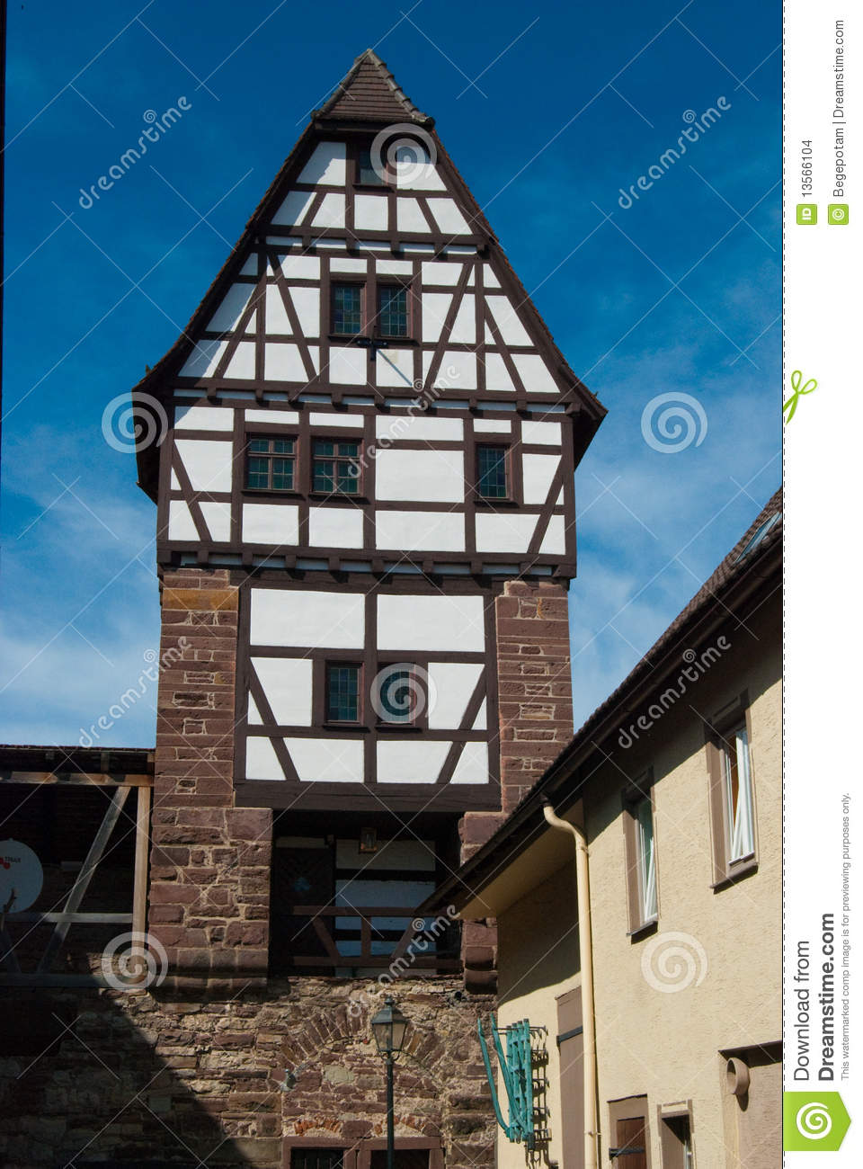 Medieval German House In Stuttgart Stock Images Image