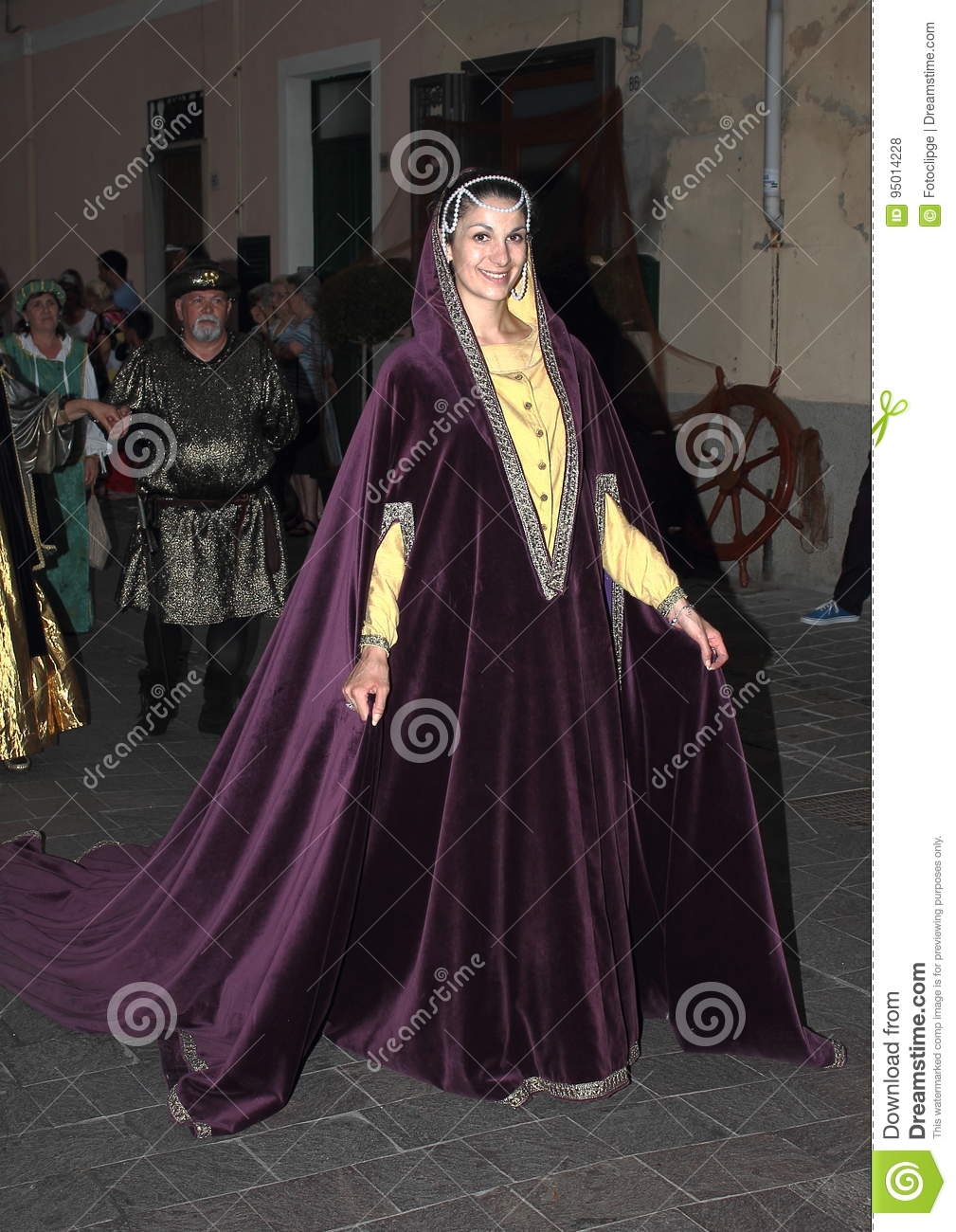 Download Medieval Historical ReenactmentChristopher Columbus Editorial Stock Photo - Image of colombo isabella  sc 1 st  Dreamstime.com & Medieval Historical Reenactment:Christopher Columbus Editorial Stock ...