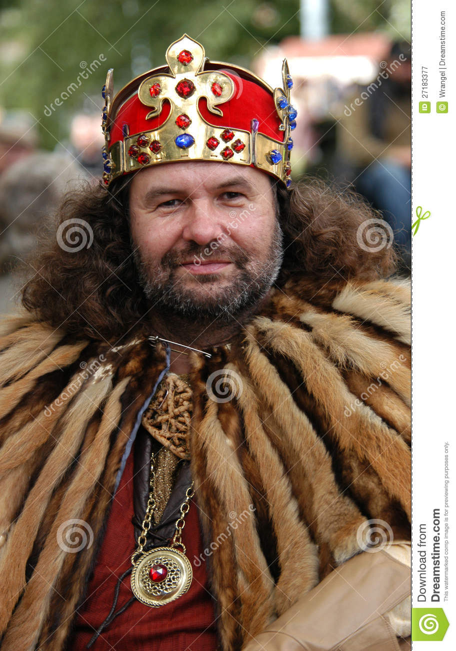 Medieval King Editorial Photography Image 27183377