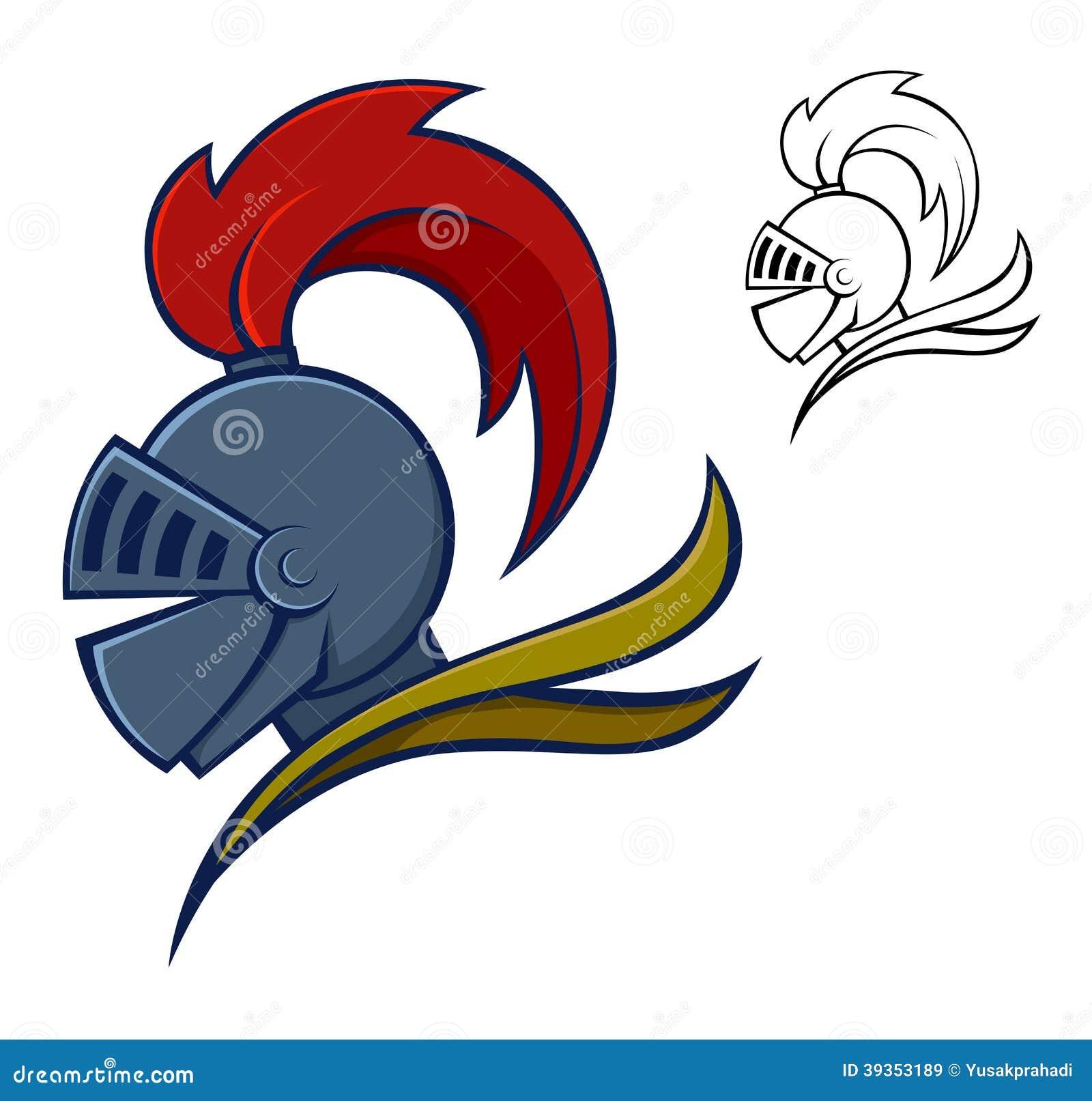 Medieval knight helmet stock vector illustration of protection medieval knight helmet biocorpaavc Choice Image
