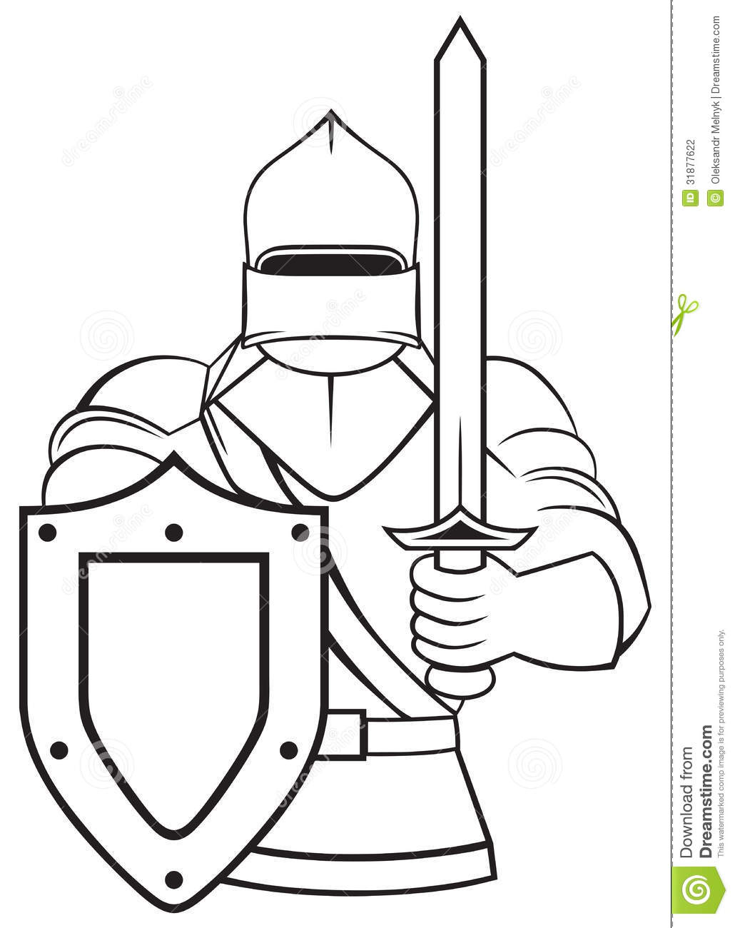 Medieval Knight Stock Photography Image 31877622