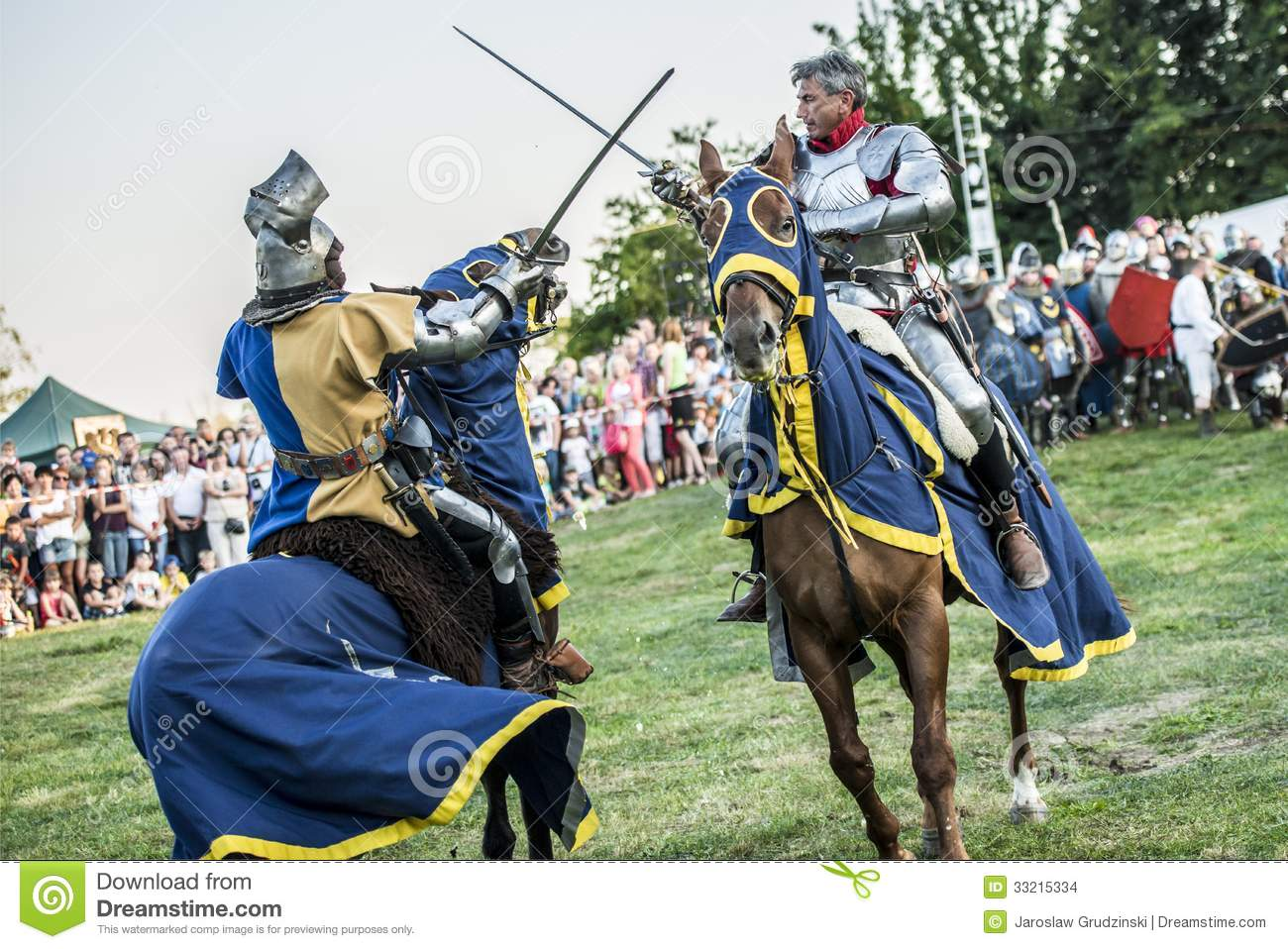 medieval knights fighting editorial stock image image of