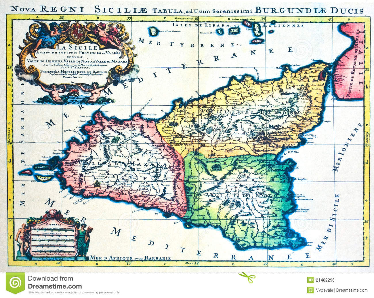 Map Of Sicily Image Image 3319081 – Sicily Tourist Map
