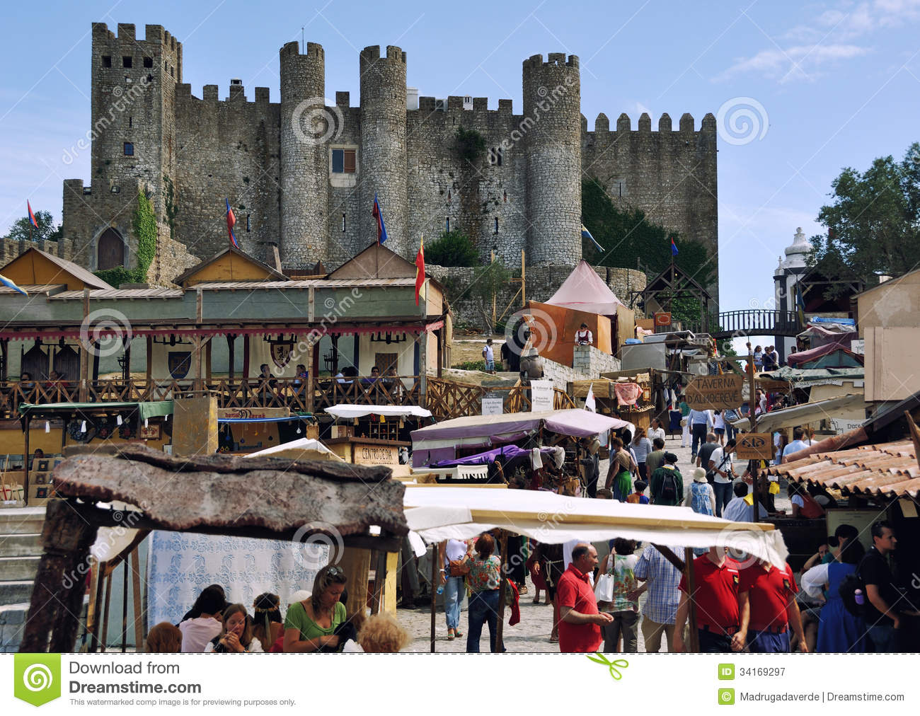 ... , Portugal. For two week the town hosts the market around the Castle