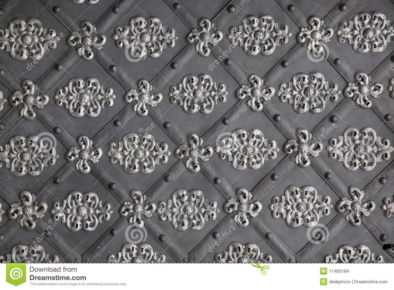 Medieval Metal Wall Stock Images Image 11460184