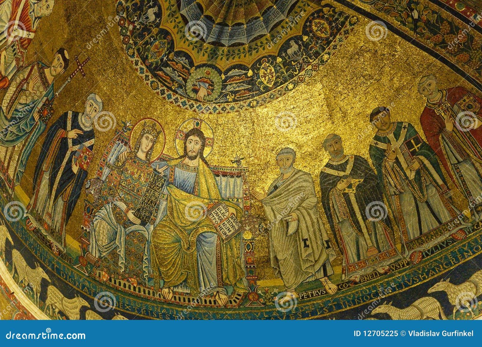 Medieval Mosaics Royalty Free Stock Photo Image 12705225