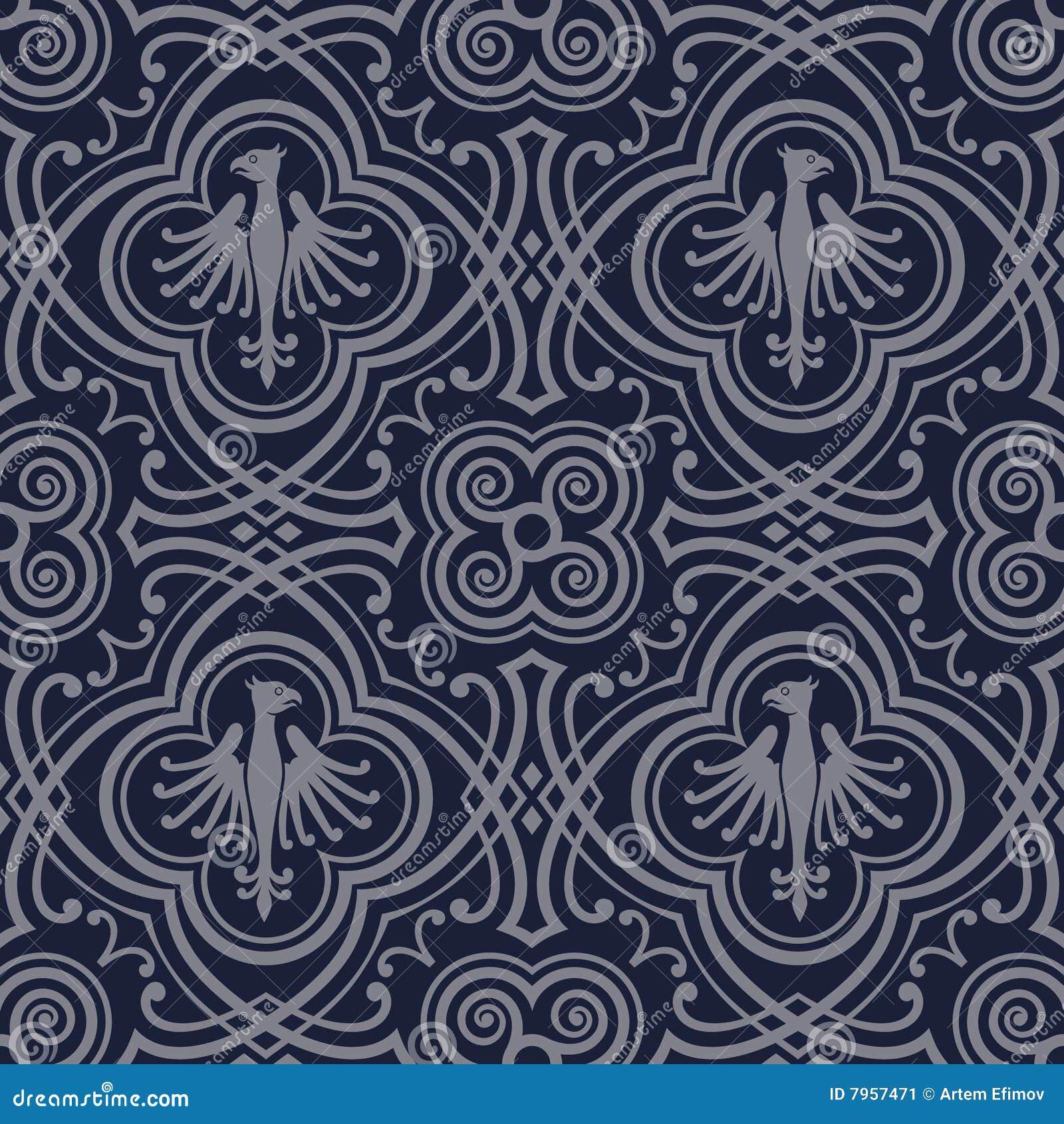 tile print wallpaper