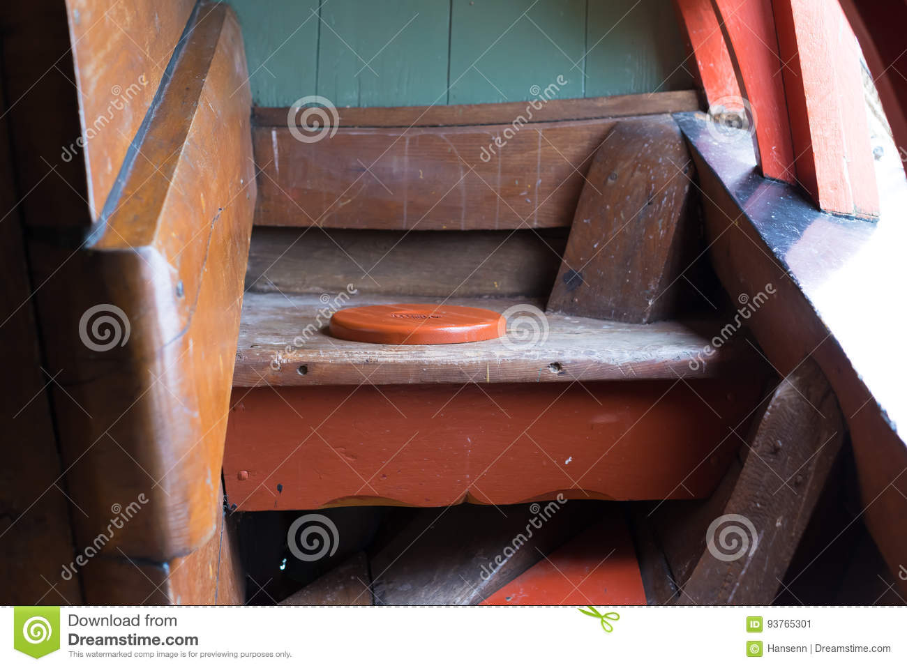 Medieval Ships Toilet Stock Image Of Replica