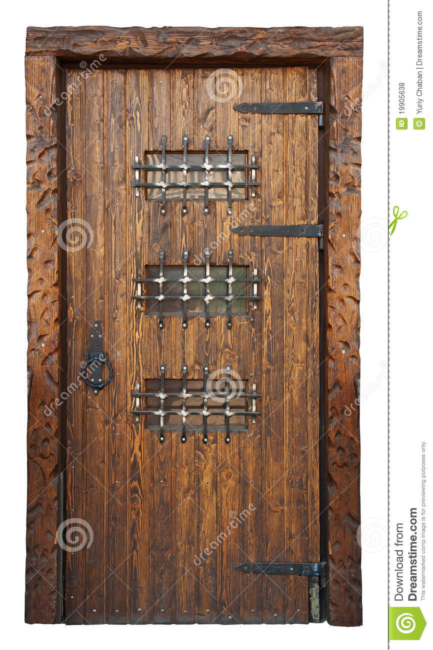 Medieval Style Door Royalty Free Stock Photos Image