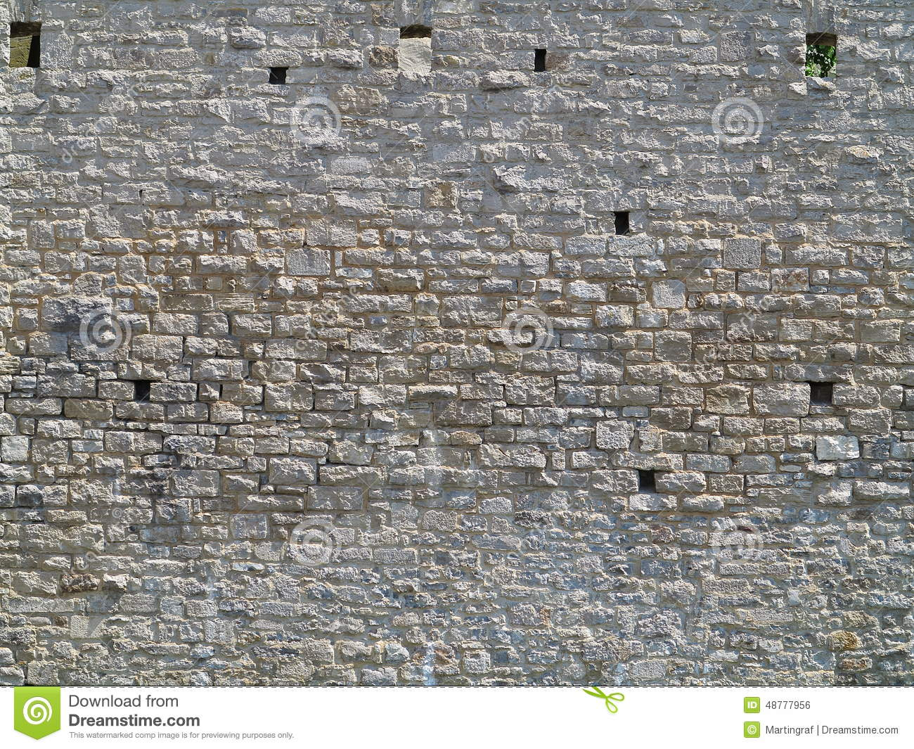 Medieval stone wall texture. Medieval Stone Wall Texture Stock Photo   Image  48777956