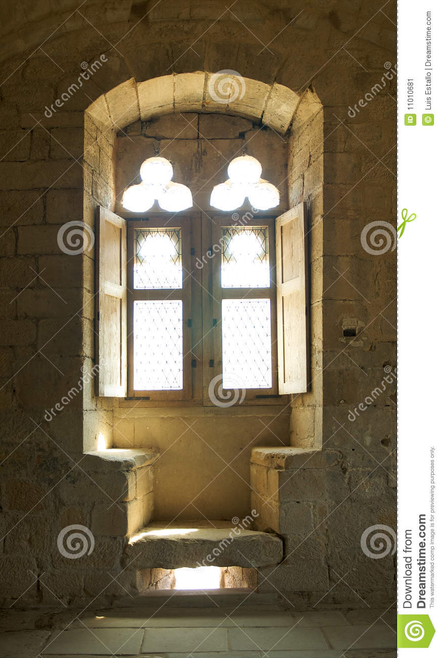 Medieval Window Stock Image Image 11010681