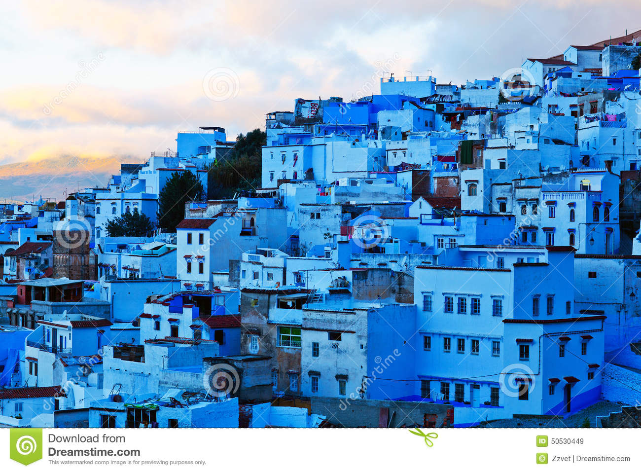 ... of the same name, and is noted for its buildings in shades of blue