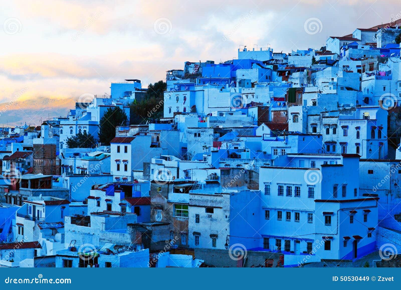 Blue City Morocco Medina Of Chefchaouen Morocco Stock Photo Image 50530449