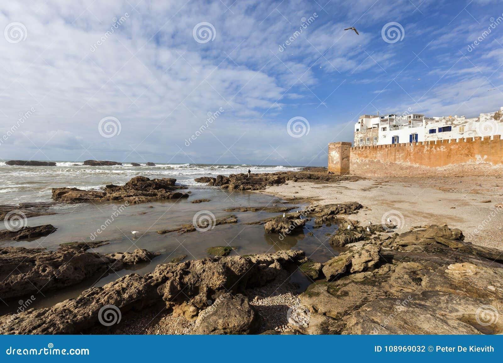 Medina de Essaouira em Marrocos
