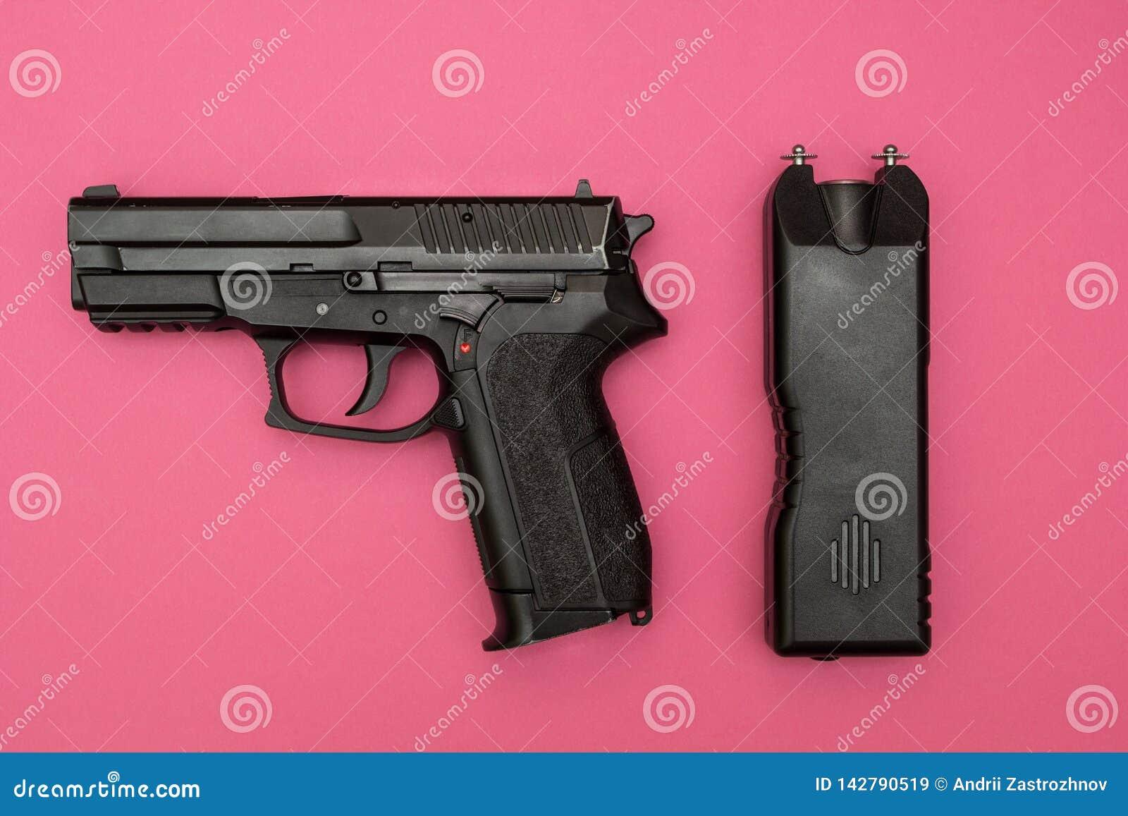 Medios de la protección para las mujeres, la máquina de la descarga eléctrica y el arma