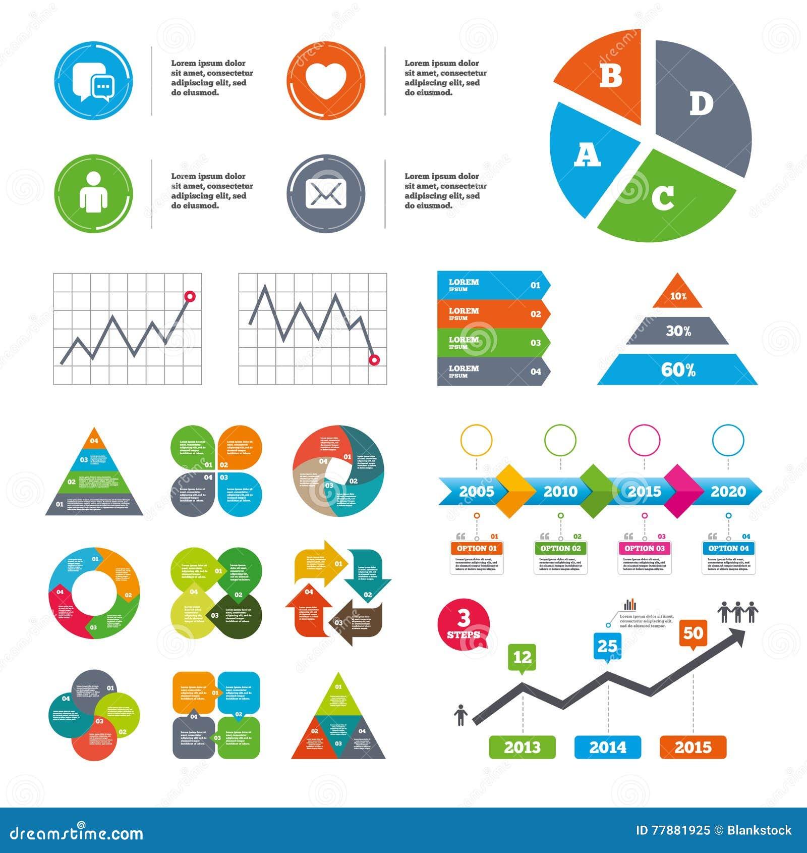 Medios Iconos Sociales Burbuja Y Correo Del Discurso De La Charla Ilustración del Vector