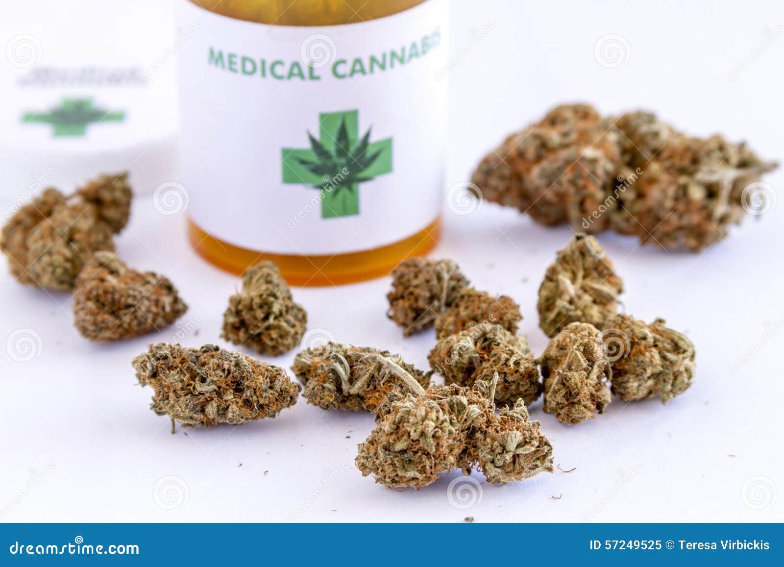 Medische Marihuanaknoppen en Zaden