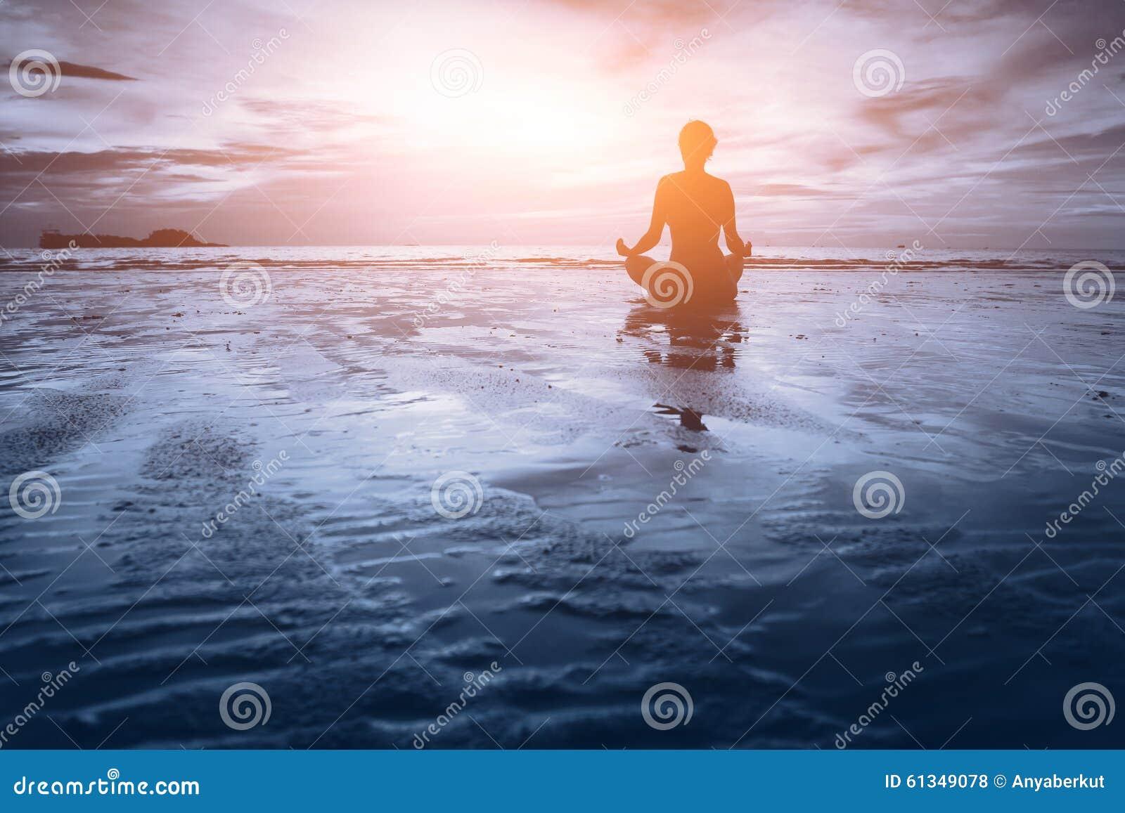 Meditatie - blauwe toon
