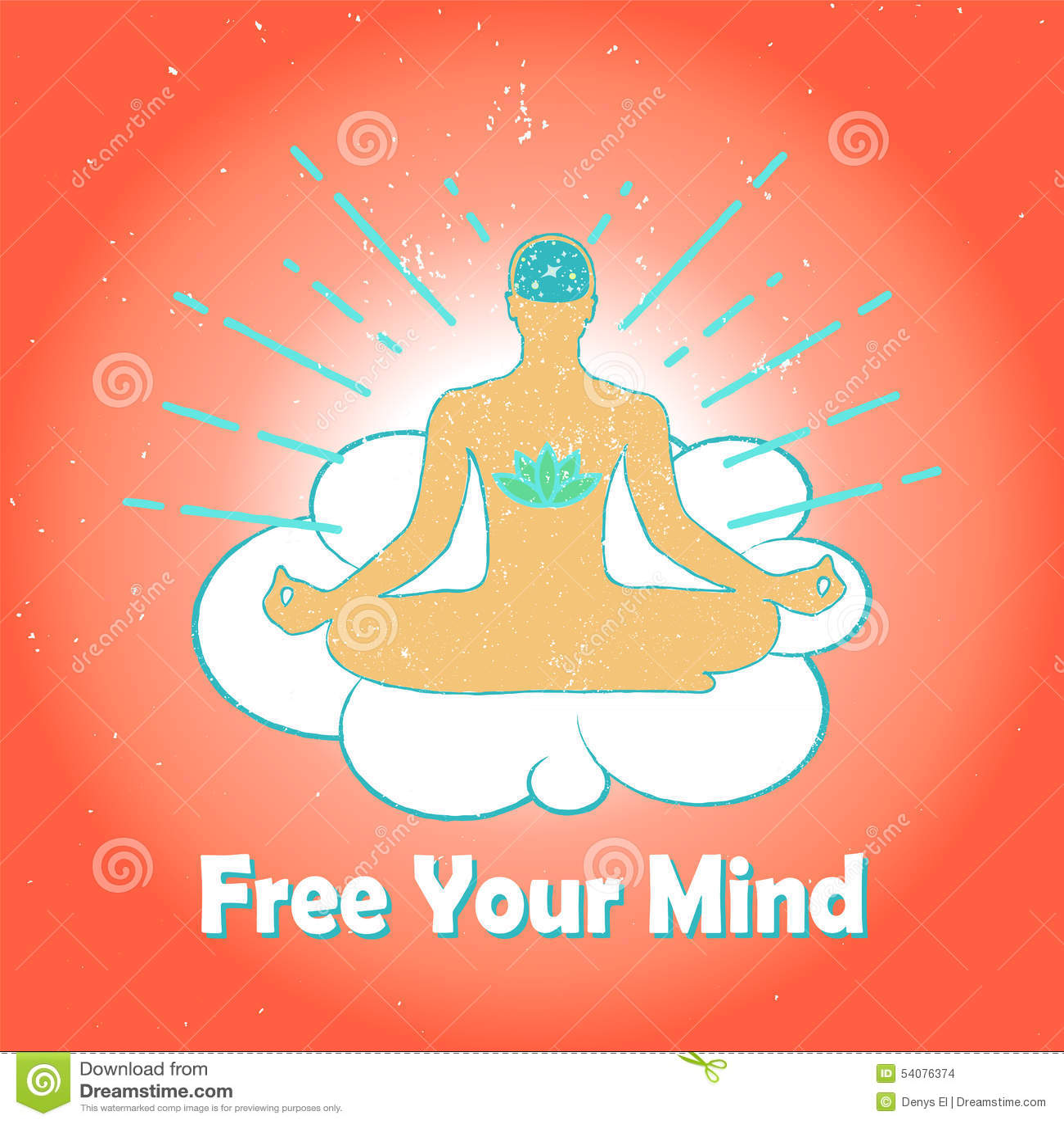 Meditatieembleem