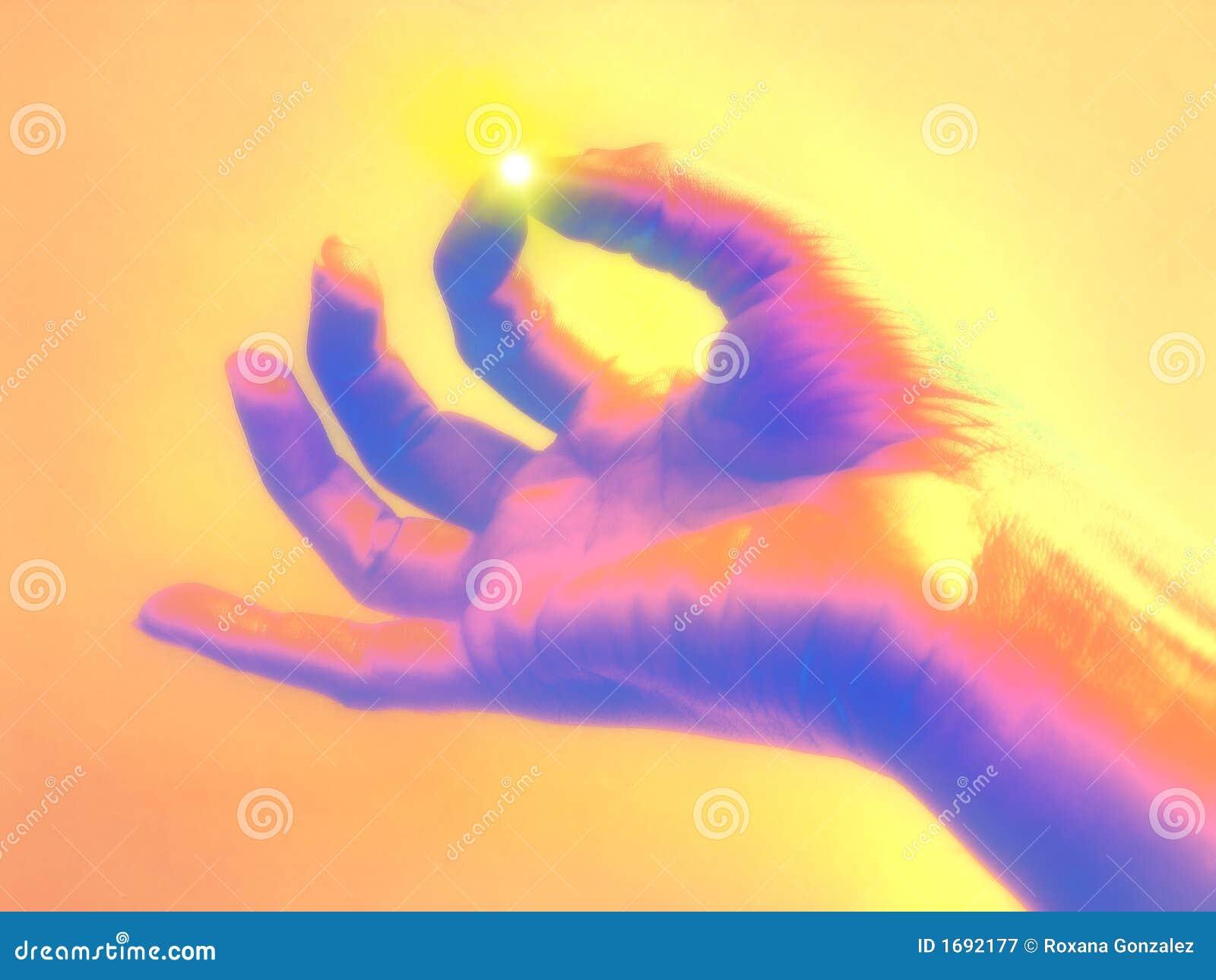 Enlightone: Enlightenment Concept Stock Image