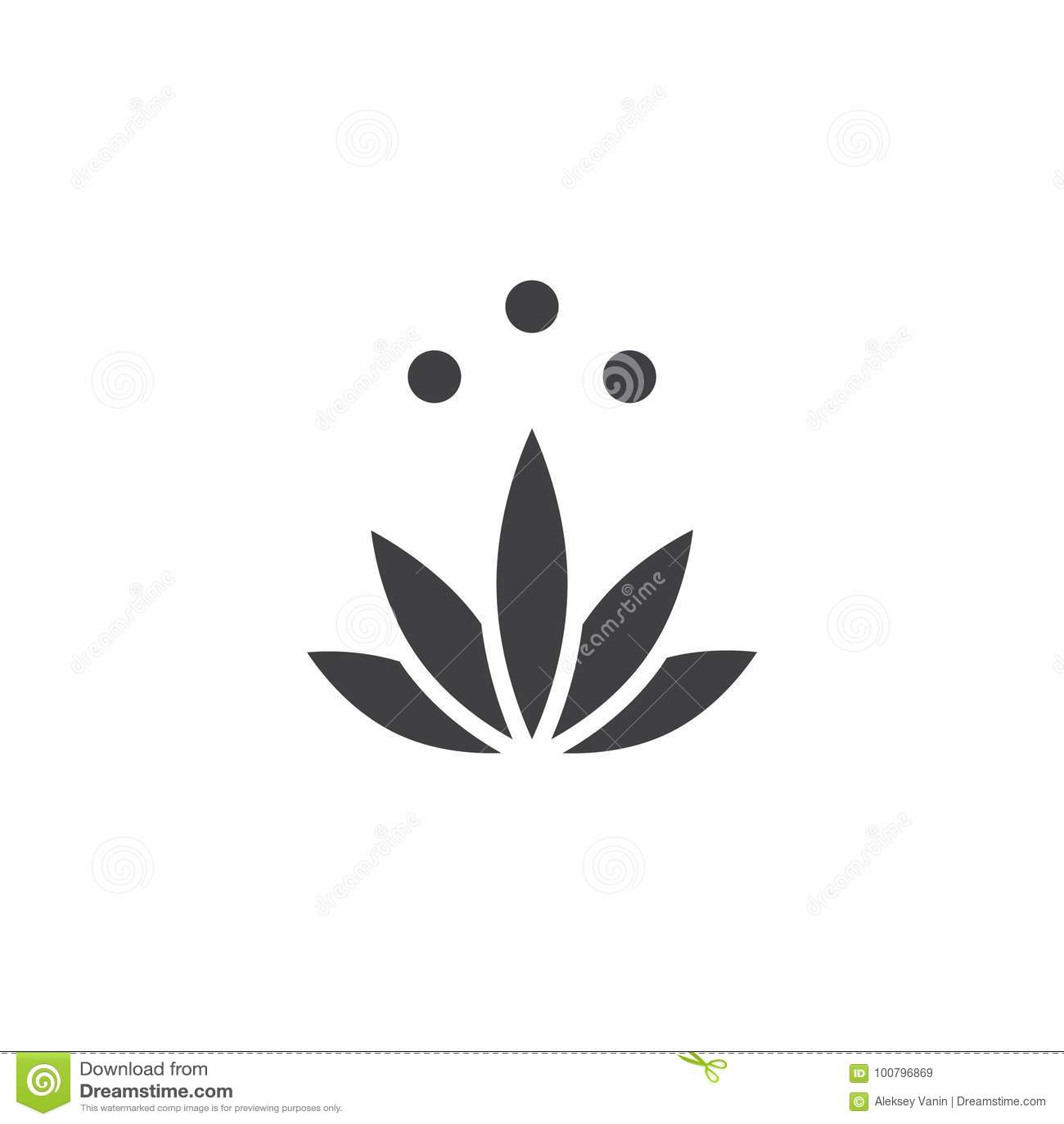 Meditation icon vector stock vector illustration of vector 100796869 meditation icon vector filled flat sign solid pictogram isolated on white lotus flower symbol logo illustration mightylinksfo