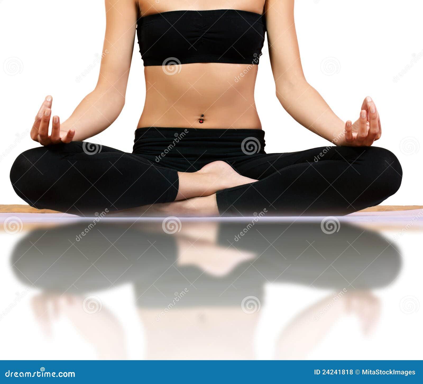 Royalty Free Stock Photos  Meditation yoga poseYoga Meditation Pose