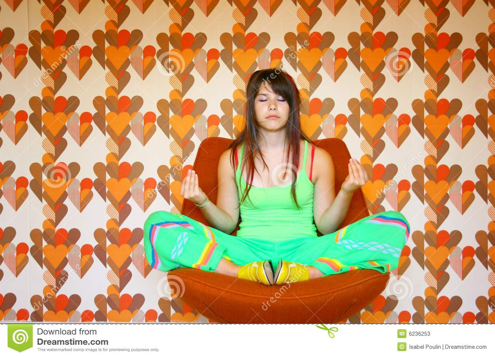 Meditera tonåring