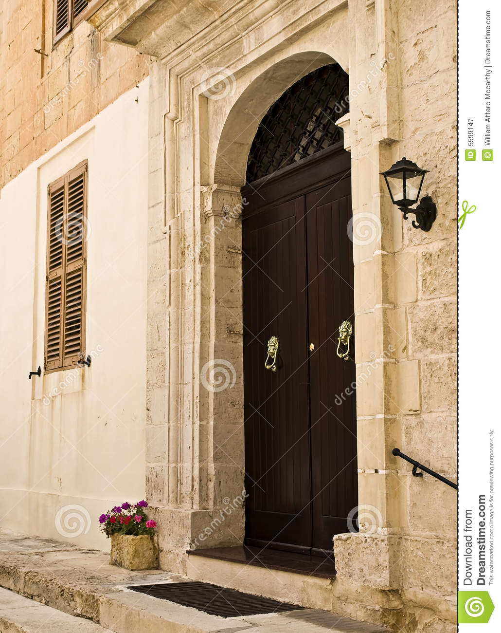 1300 #82A229 Mediterranean Baroque Door Royalty Free Stock Photography Image  picture/photo Mediterranean Entry Doors 44691030