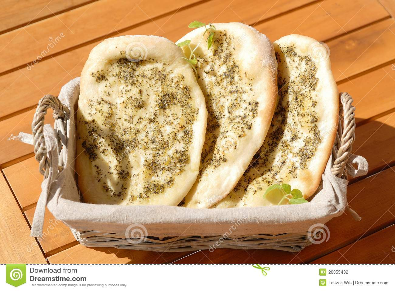 Mediterranean Bread Stock Photography - Image: 20855432
