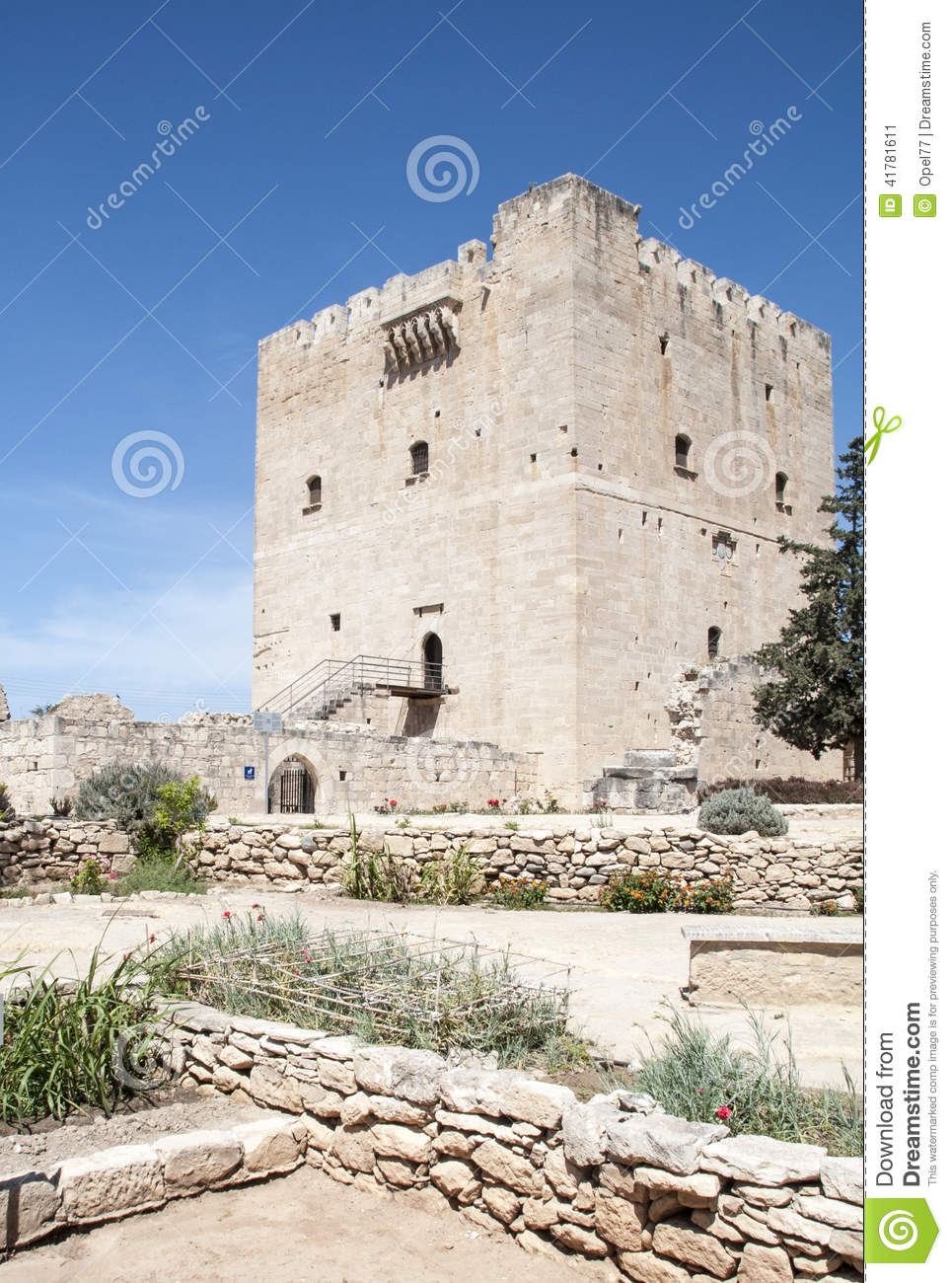 Mediterranean castle stock photo image 41781611 for Sun castle