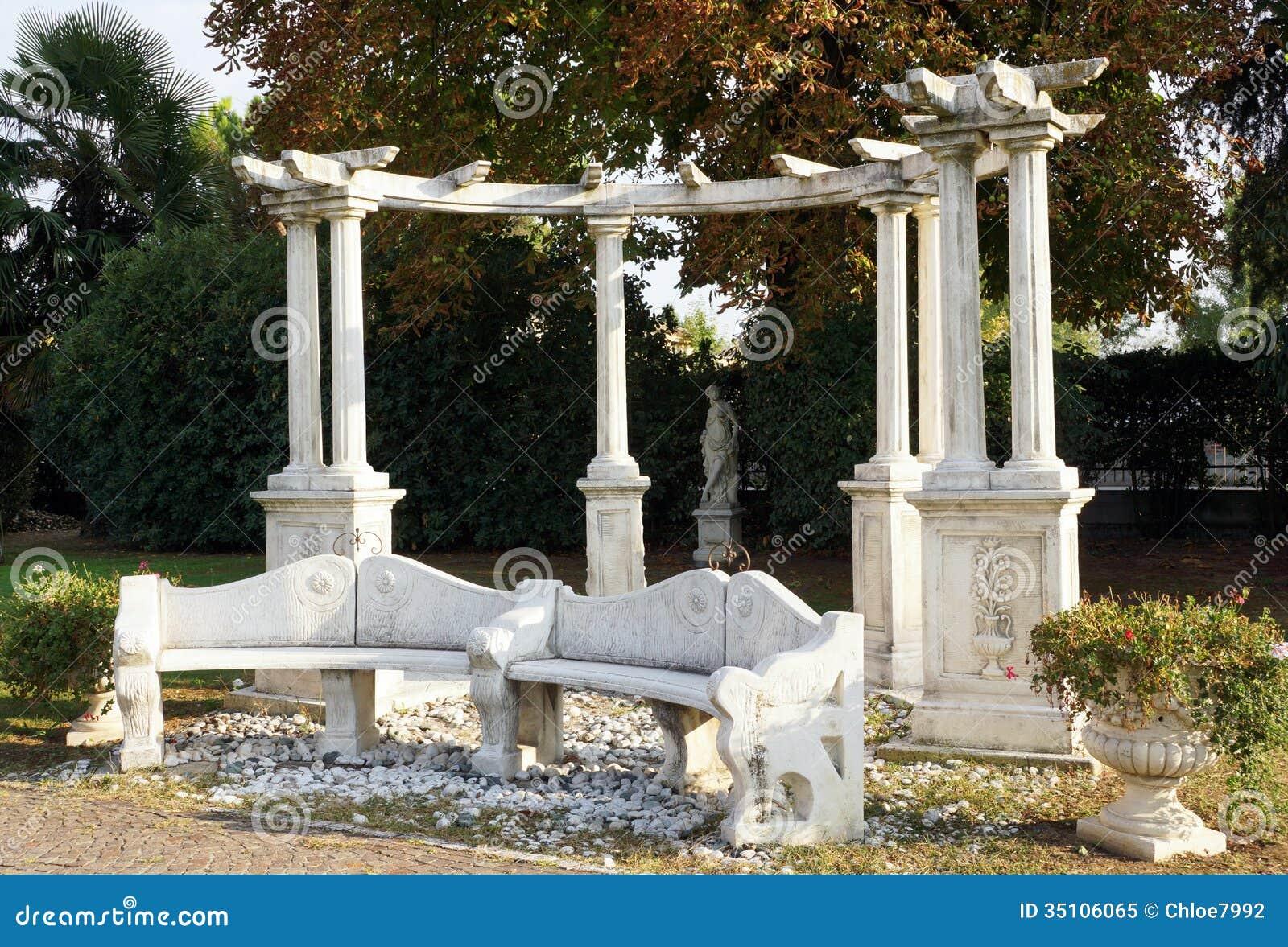 Mediterranean Garden Royalty Free Stock Photo Image 35106065