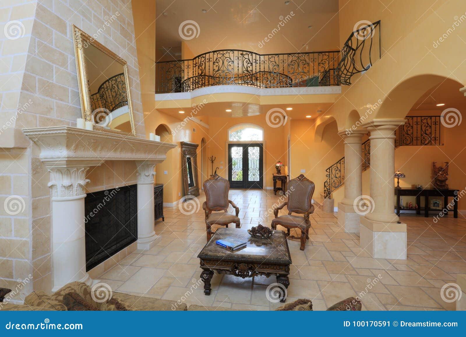 Mediterranean home interior