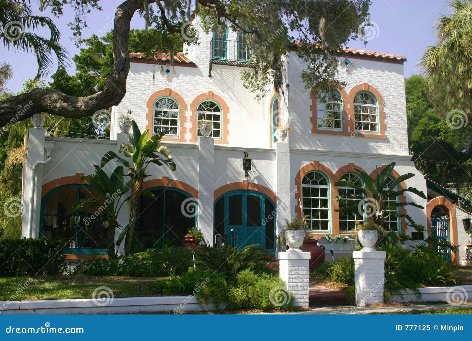 Mediterranean House Royalty Free Stock Photo - Image: 777125