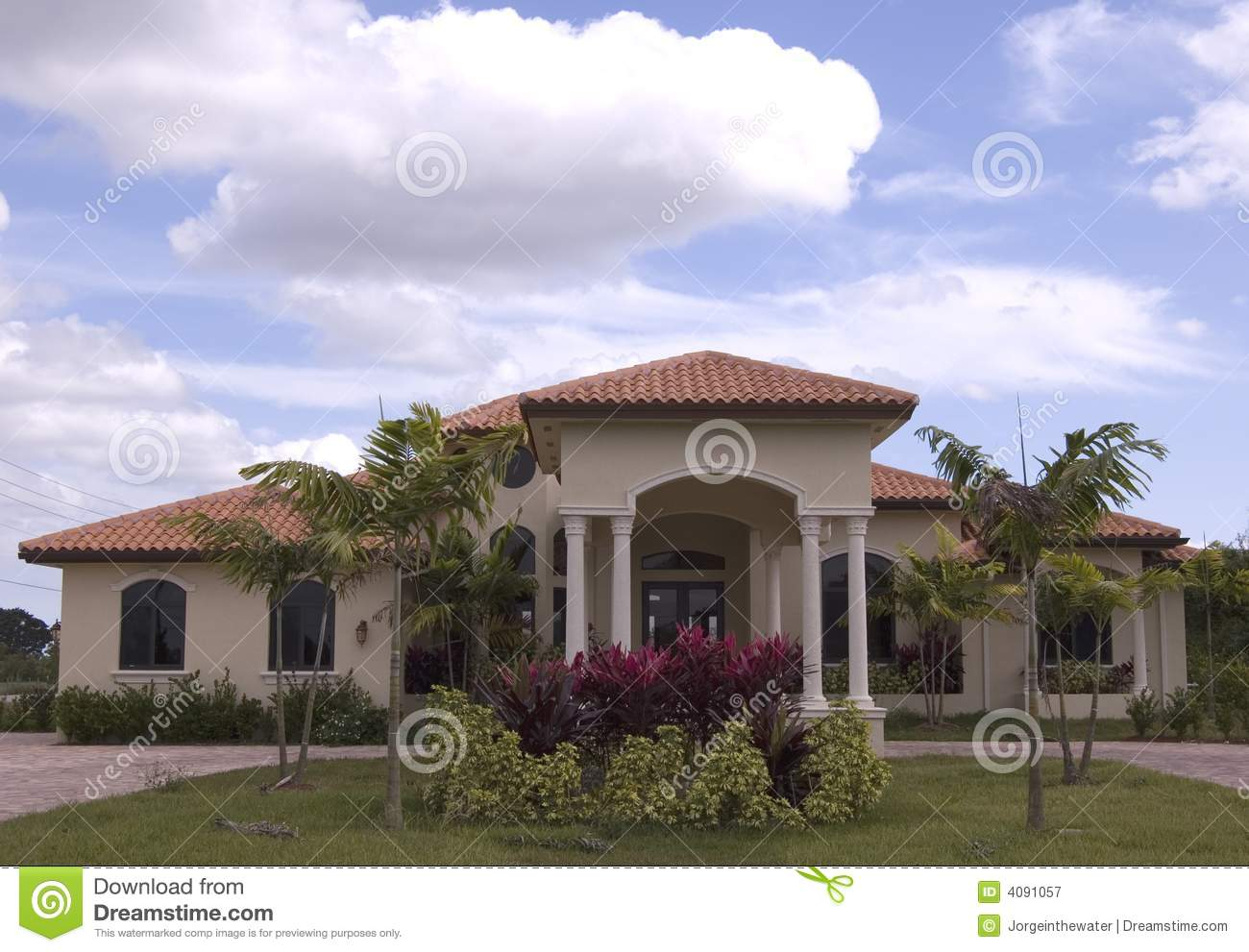Mediterranean House 8 Royalty Free Stock Photography ...