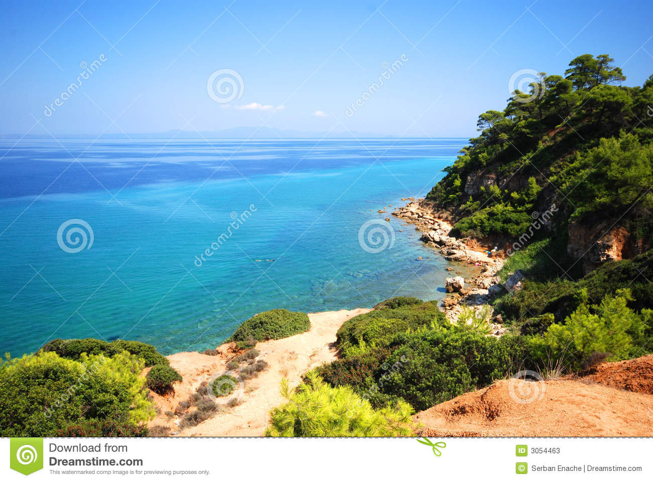 Download Mediterranean Sea stock image. Image of plants, outside - 3054463