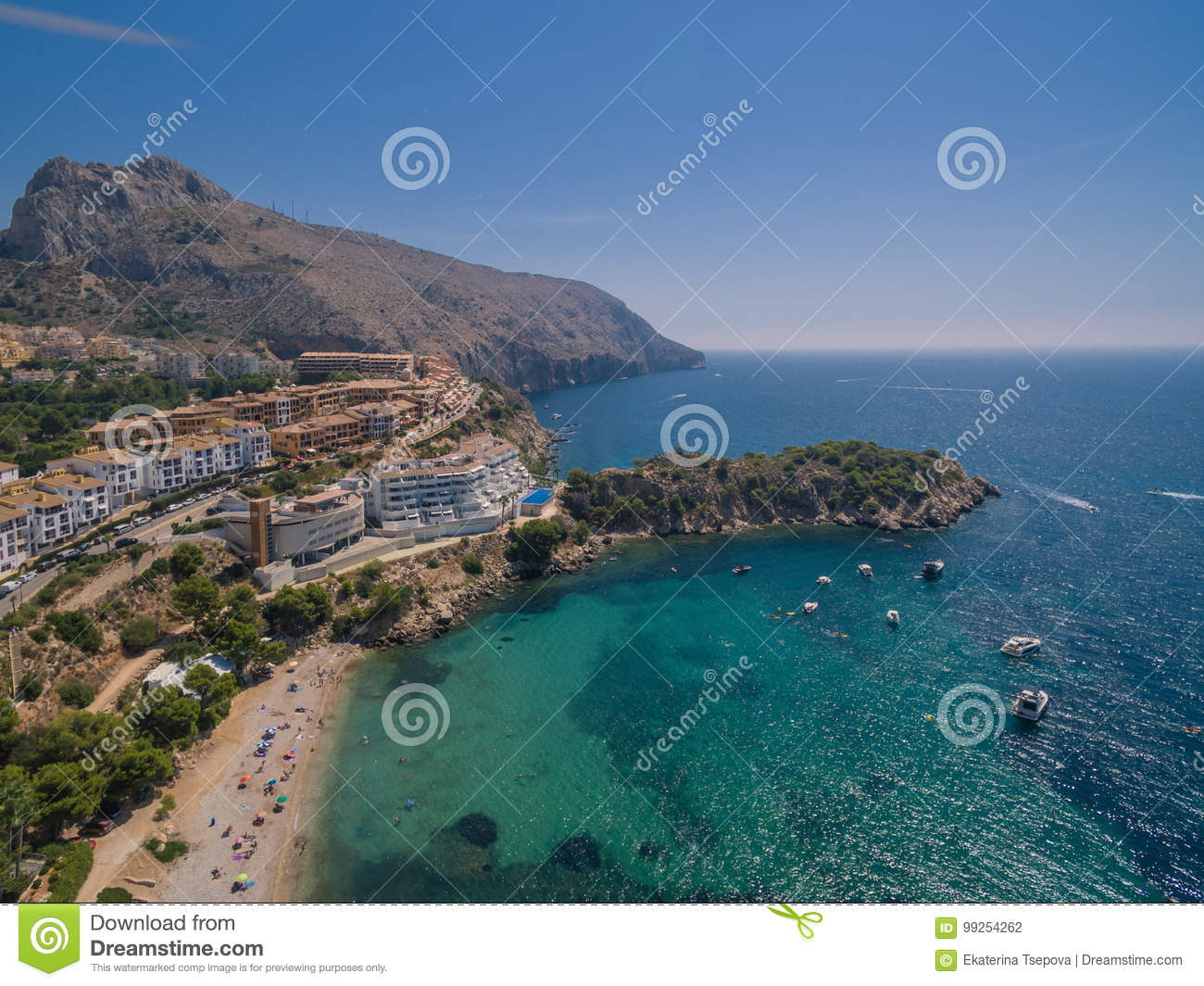 Mediterranean sea coast