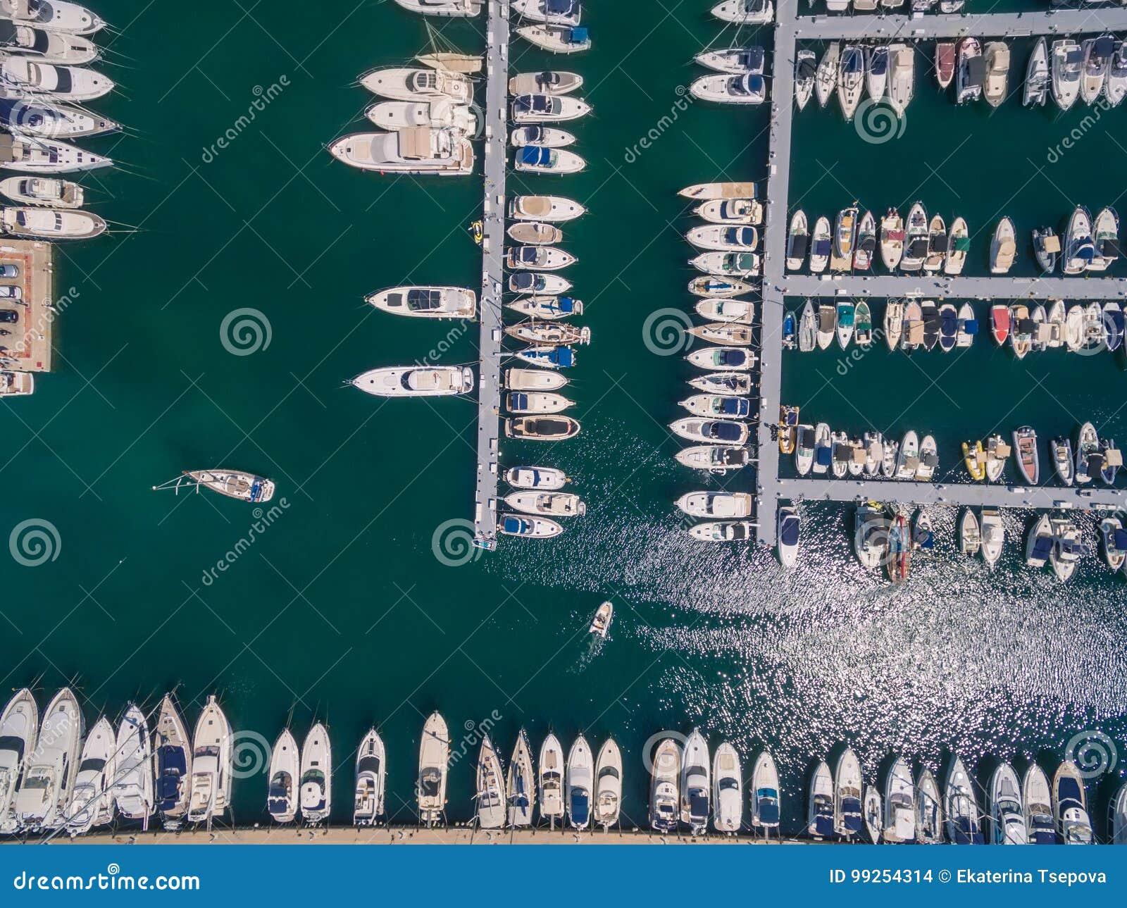 Mediterranean sea marina