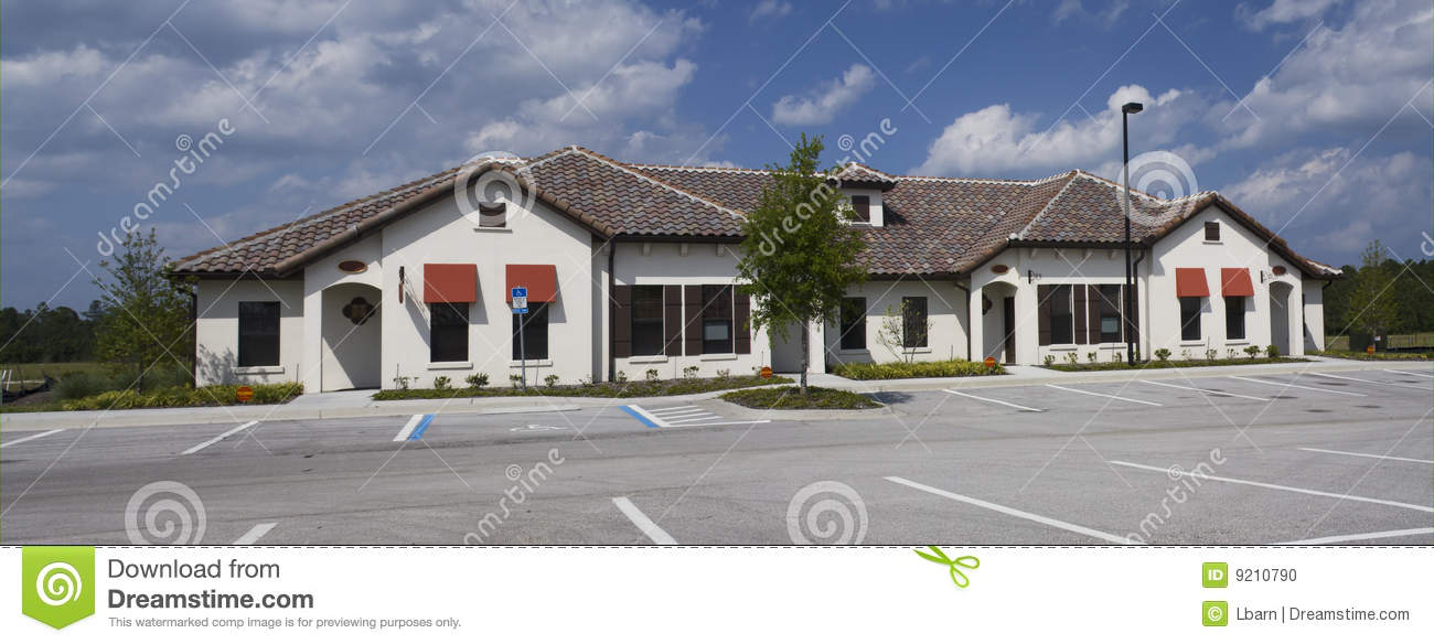 Mediterranean style office building stock photo image for Mediterranean style buildings