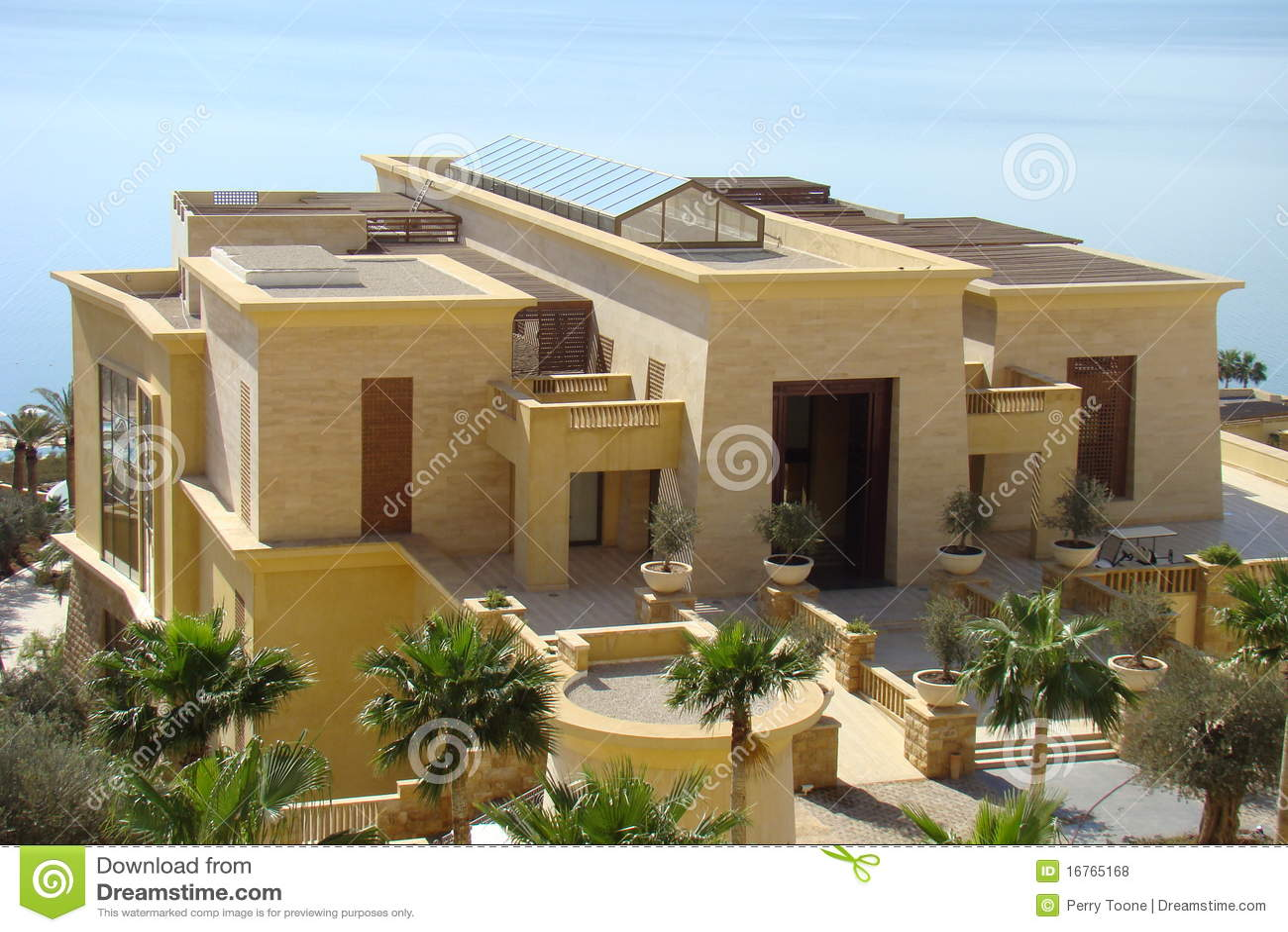 Mediterranean Villa Stock Photo Image Of Mediterranean