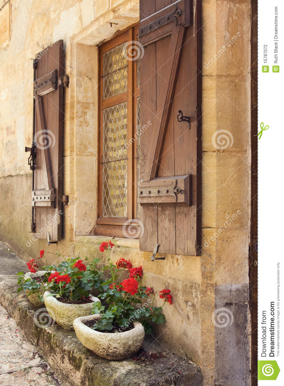 Mediterranean Window Boxes Stock Photography Image 15787072