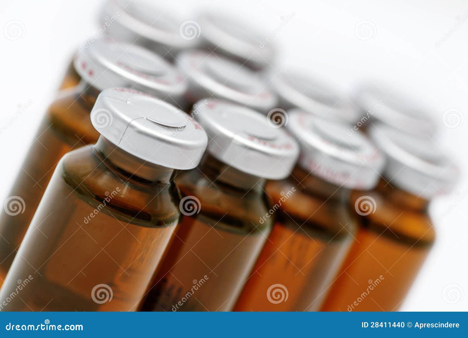Medizinische Ampullen