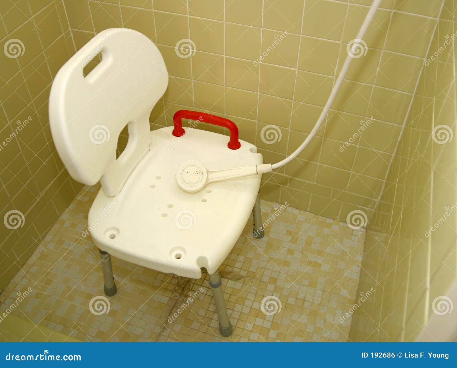 medizinischer dusche stuhl 2 stockfoto bild von teildienst wiederanlauf 192686. Black Bedroom Furniture Sets. Home Design Ideas