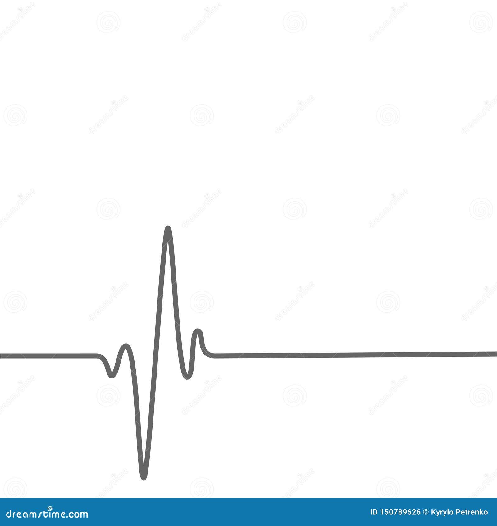 Medizinischer Gesundheitshintergrund mit Herzschlagenlinie