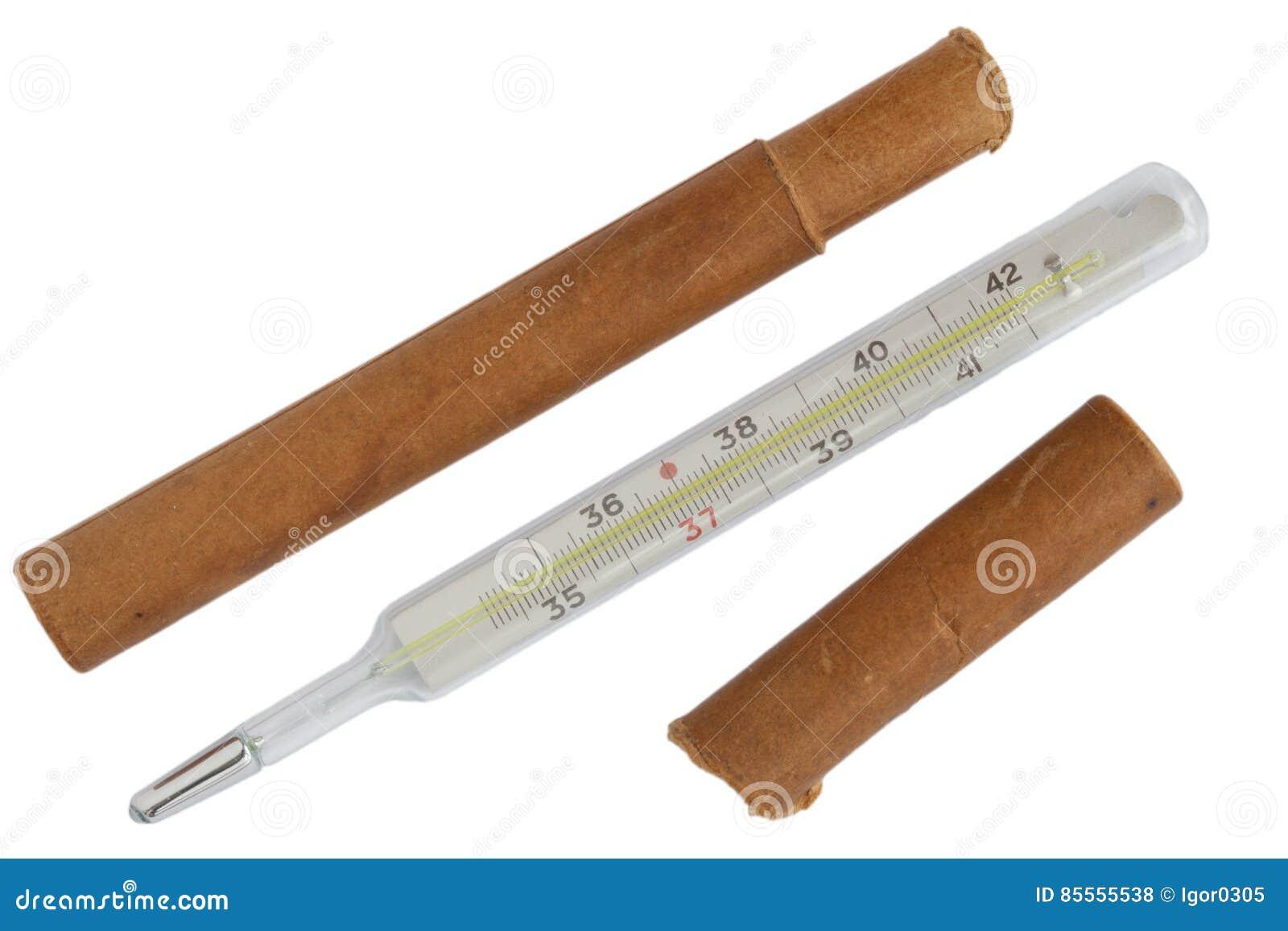 Medizinischer Quecksilberthermometer