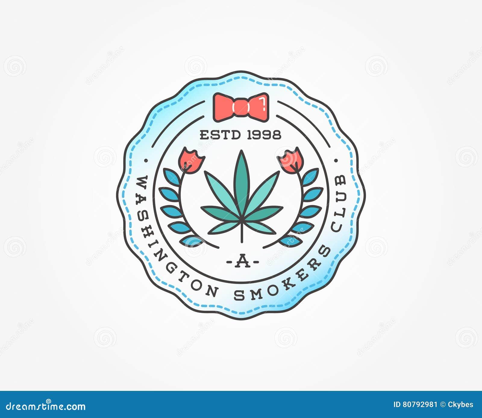 Medizinisches Hanf-Marihuana-Zeichen Oder Aufkleber-Schablone Im ...