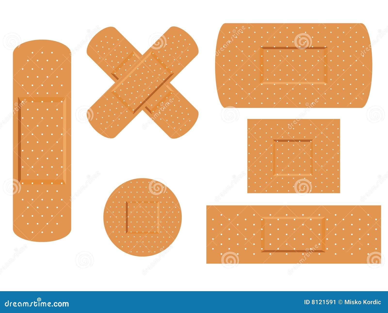 medizinisches pflaster der ersten erste hilfe vektor abbildung bild 8121591. Black Bedroom Furniture Sets. Home Design Ideas