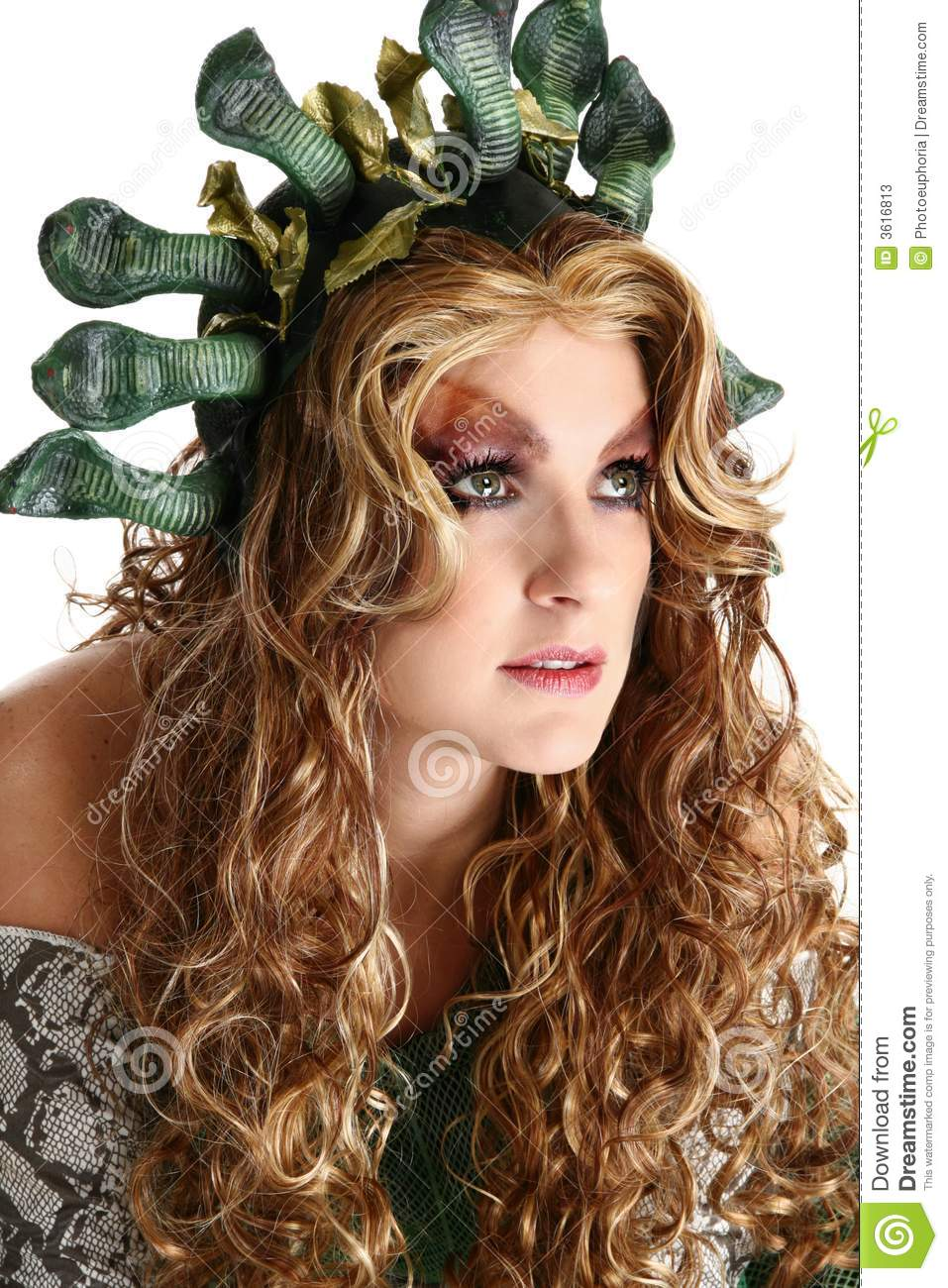 medusa stock image. image of halloween, person, role, thirty - 3616813