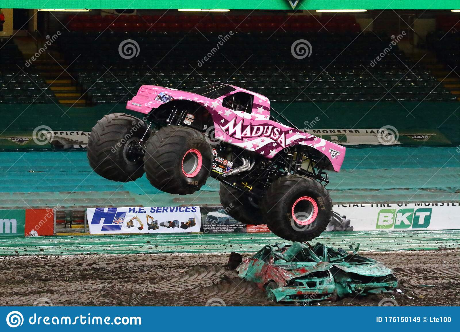 13 Pink Monster Truck Photos Free Royalty Free Stock Photos From Dreamstime