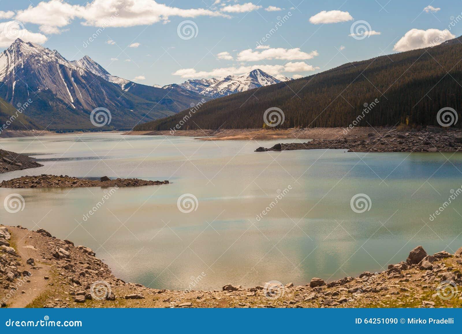 Medycyna jezioro, Alberta, Kanada